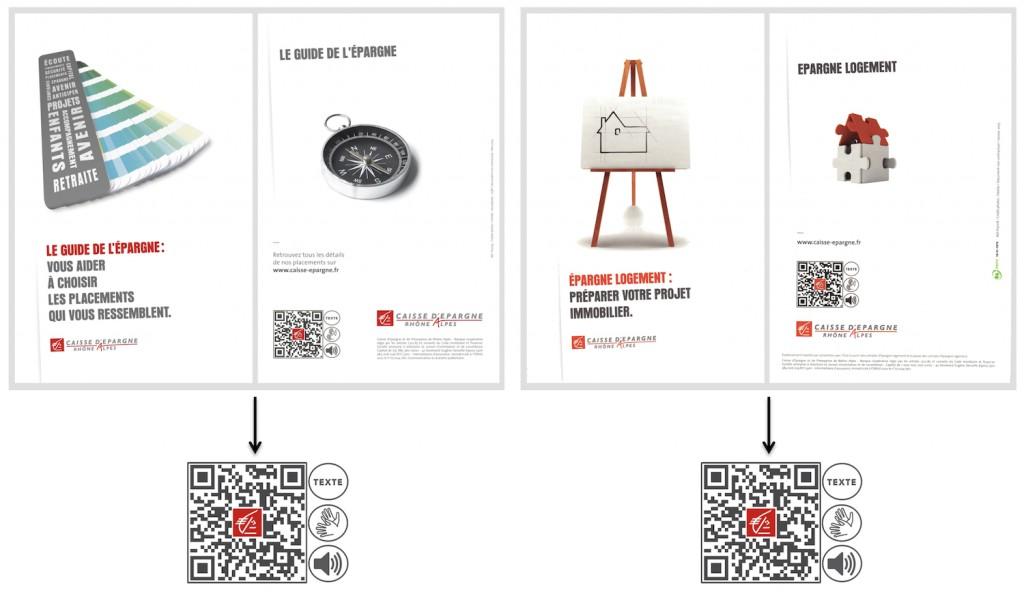 Le guide de l'Epargne et Epargne Logement de la Caisse dEpargne Rhône Alpes accessibles avec Altercode.
