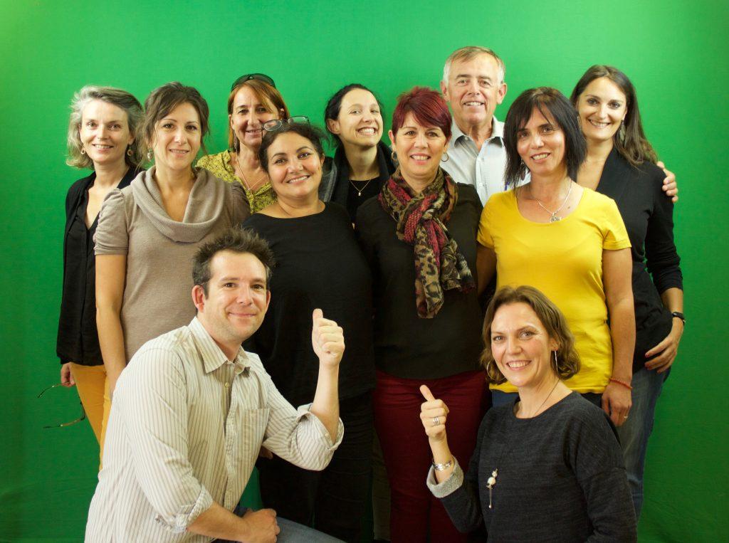 Formation CVS: Photo des participants avec les formateurs